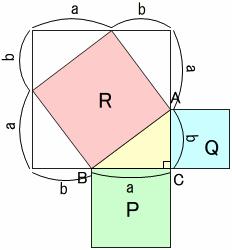 3:4:5の三角形で、本当に直角ができる?