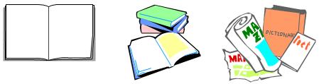 ノートや書籍などの紙