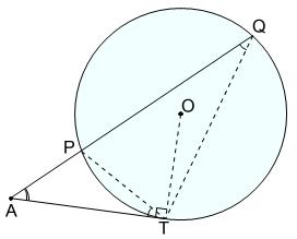 方べきの定理 円外 証明