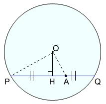 方べきの定理 円の内部